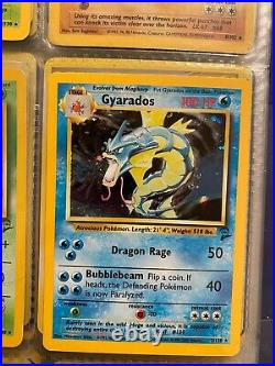 1999 Rare Holo Pokemon Cards Excellent Condition, One Shadowless One 1st Edition