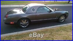 2003 Ford Thunderbird COLLECTORS DREAM HARDTOP EDITION, 1 OWNER, CLEAN