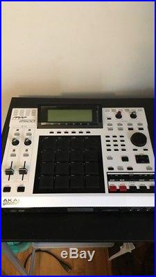 AKAI MPC 2500 Limited Edition White Excellent Condition #371 Of 500 Made