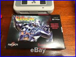 Analogue Super Nt SF Edition Excellent Condition CIB with Controller & Receiver