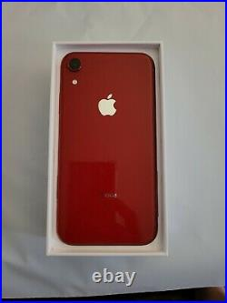 Apple iPhone XR RED Edition-64GB (Sprint) A1984 UNLOCKED Excellent Condition