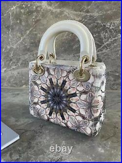 Authentic Dior Mini Lady Bag Limited Edition Excellent Condition