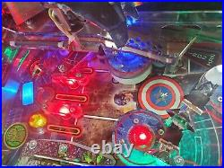 Avengers Limited Edition Pinball Machine Only 250 Made! Excellent condition