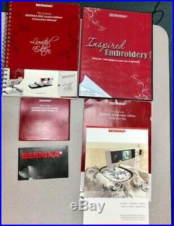 BERNINA 830 Limited Edition Sewing/Embroidery Combo withBSR Excellent Condition