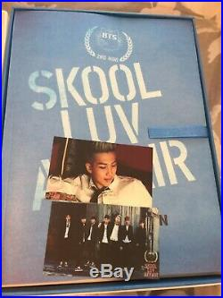 BTS Skool luv affair Special Edition Suga Photocard +2 Extra Excellent Condition