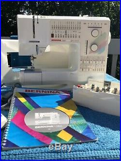 Bernina 1260 Quilters Platinum Edition Excellent Condition All Parts Included
