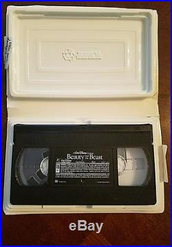 Black Diamond Edition Beauty And The Beast (vhs) Excellent Condition