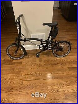 Brompton S2L Black Edition (all Black) Pre-owned, Excellent Condition