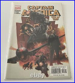 Captain America #6 First Winter Soldier Steve Epting Variant Excellent Condition