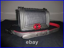 Chanel Cube Boy Small Flap Bag 2014 Limited Edition Excellent Condition