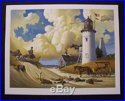 Charles Wysocki Limited Edition Signed Print Dreamers Excellent Condition