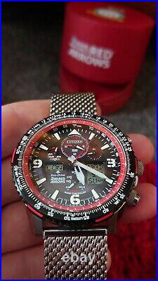 Citizen Red Arrows Limited Edition JY8978-76E excellent condition