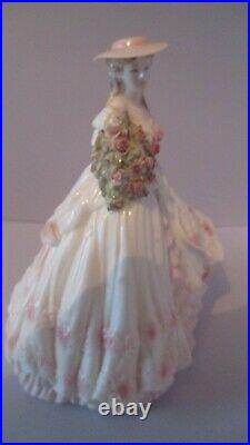 Coalport Rose. The Four Flowers collection. Limited edition. EXCELLENT CONDITION