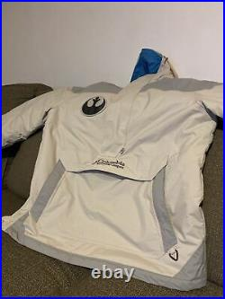 Columbia Star Wars MED Jacket Force Edition Light Side-Used, Excellent Condition