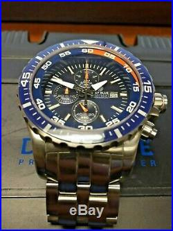 DEEP BLUE Diver Chrono 500 watch Limited Edition 74/500 Excellent Condition