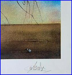 Dali Temptation Of Saint Anthony Pencil Signed Limited Edition Lithograph