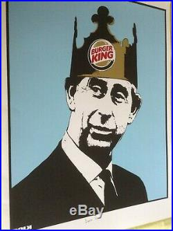 Dolk'burger King' Rare Limited Edition Stored Flat Excellent Condition