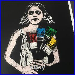Dolk'paintbrush Girl' Limited Edition Rare Excellent Condition