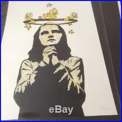 Dolk'praying Girl' Rare Limited Edition Stored Flat Excellent Condition