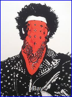 Dolk'punk' Limited Edition Stored Flat Rare Excellent Condition