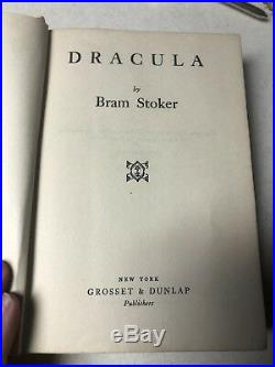 Dracula, Bram Stoker, 1897, American 1st Edition, EXCELLENT CONDITION, Rare