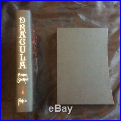 Dracula by Bram Stoker 1st Edition Folio Society Rare Excellent Condition