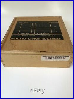 Electro-Harmonix Micro Synthesizer V3 Wooden box version Excellent condition
