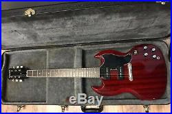 Epiphone Limited Edition Custom Shop SG Cherry Red with Case Excellent Condition