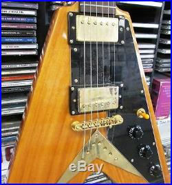 Epiphone Ltd Edition Flying V Korina Electric Guitar Excellent Condition