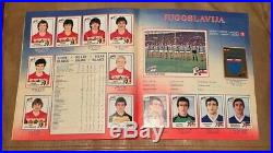 Euro 84 1984 Panini excellent condition UK Edition