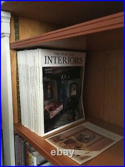 Excellent Condition 14 issues of The World of Interiors 80s-00s Special Editions