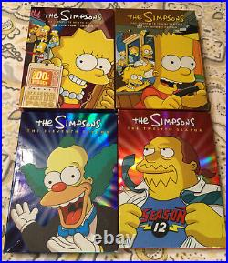 Excellent Condition The Simpsons Collection Seasons 1-13 Collectors Edition