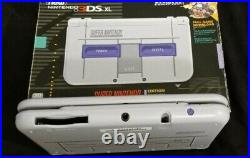 Excellent condition Nintendo 3ds XL SNES Edition with 10 Games