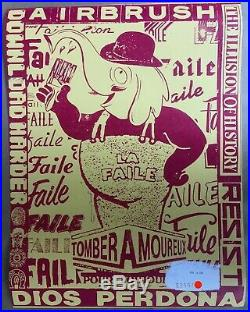 Faile Secret Seas SOLD OUT Signed edition of 250 RARE Excellent Condition