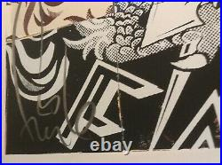 Faile Visions Victoire Screenprint Signed Edition Excellent Condition IN HAND