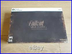 Fallout New Vegas Collector's Edition (PC, 2010) Excellent Condition Complete