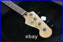 Fender Special Edition Deluxe Jazz Bass Ash with Hard Case, Excellent condition
