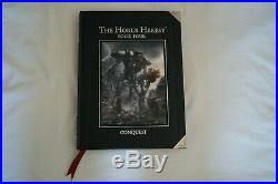 Forge World Horus Heresy Book 4 Conquest Limited Edition excellent condition