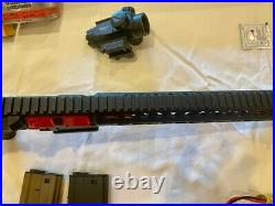 G&G Armament CM16 SRXL Red Edition Used EXCELLENT Condition with large BUNDLE
