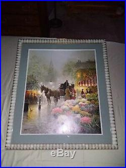 G Harvey, Deluxe Edition Flower Market, Excellent Condition
