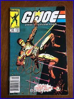G. I. Joe A Real American Hero #21 Marvel Newsstand Edition Excellent Condition