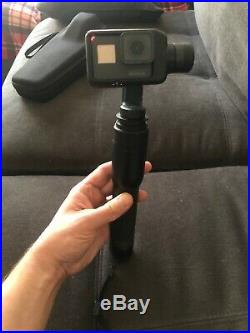 GoPro Hero 5 HD Black Edition Action Camera Excellent condition. Karma Gimbal