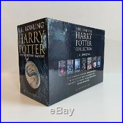 Harry Potter Adult Edition Hardback Books Boxset Excellent Condition Collectors
