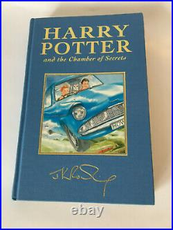Harry Potter Complete Deluxe Set All 1st Editions Excellent Condition