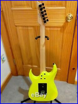 Ibanez RG2XXV Florescent Yellow (25 Anniversary Edition) Excellent Condition