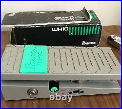 Ibanez Wh-10 Original Version 1 Wah Pedal Made in Japan EXCELLENT CONDITION