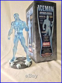 Iceman Statue, Bowen Designs, Clear Version, Excellent Condition, Free Shipping