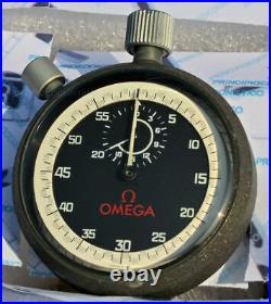 Impossibile to Find Stopwatch Omega Version Basket Period IN Excellent Condition