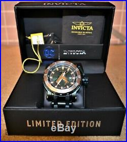 Invicta DC Limited Edition Aquaman Watch #26830 Excellent Condition
