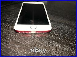Iphone 7 256gb Limited Edition Red Att Only Excellent Condition With Box